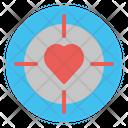 Target Crush Love Icon