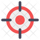 Target Focus Central Point Icon