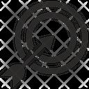 Aim Target Ddos Icon