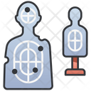 Target Sniper Gun Icon