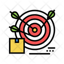 Business Target Color Icon