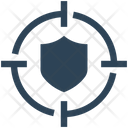 Target Protection Shield Icon