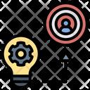 Target Customer Startup Icon