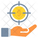 Target Money Coin Icon