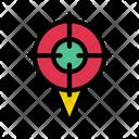 Target Location Focus Icon