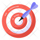 Dartboard Target Shooting Game Icon