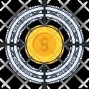 Dollar Goal Target Icon