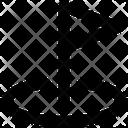 Target Goal Flag Icon