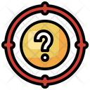 Target Question Mark Shoot Icon