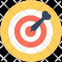 Target Bullseye Dartboard Icon