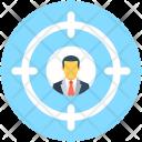 Target User Customer Icon