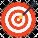 Aim Objective Goal Icon