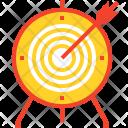 Target Dart Board Icon