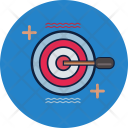 Target Business Marketing Icon