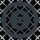 Target Plan Money Icon