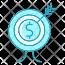 Target Goal Startup Icon