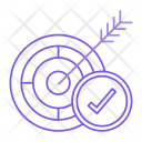 Target Aim Goal Icon