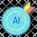 Itarget Ai Target Ai Technology Target Icon