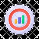 Target Statistics Target Analytics Target Infographics Icon