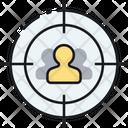 Target Audience Customer Focus Target Market Icon