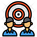 Target Marketing Business Icon