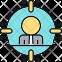 Target Audience Focus Person Focus User Icon