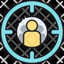 Target Audience Target On User User On Tarfet Icon