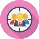 Target Auditory Seo Icon