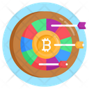 Target Money Target Bitcoin Target Business Icon