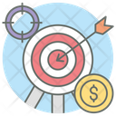 Target Board Business Target Business Aim Icon