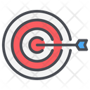 Business Money Target Icon