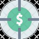 Target Budget Icon