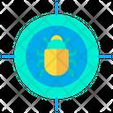 Target Bug Virus Target Icon