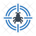 Target Focus Virus Icon