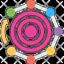 Target Chart Target Diagram Infographic Design Icon
