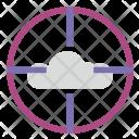 Target cloudd Icon