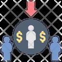 Niche Market Customer Icon