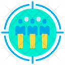 Customer Target Client Icon