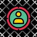 Target Customer Target Audience Icon