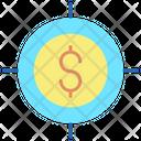 Ibusiness Goals Target Dollar Finance Target Icon