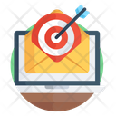 Target Email Focus Email Target Message Icon