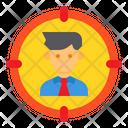 Target Businessman Man Icon