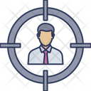 Target Focus Employee Icon