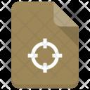 Target File Sheet Icon