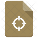 Target File Document Icon