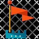 Target flag Icon