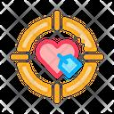 Target Heart Brand Ambassador Icon