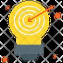 Target Idea Idea Innovation Icon