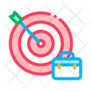 Arrow Hit Target Icon