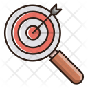 Target Keyword Research Icon